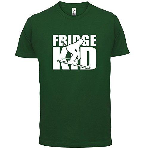 Fridge Kids Ski - Herren T-Shirt - 13 Farben Flaschengrün