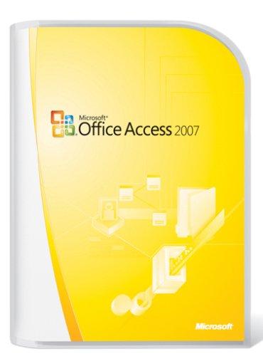 MS Access 2007 Upgrade