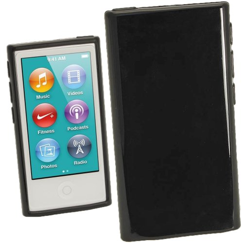 igadgitz-black-glossy-durable-crystal-gel-skin-tpu-case-cover-for-apple-ipod-nano-7th-generation-7g-
