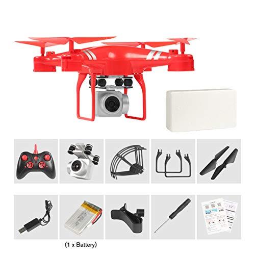 Noradtjcca RC Hubschrauber Drohne mit HD WiFi FPV 4K 16MP Kamera 2.4G 4-Achsen RC Flugzeug Drohnen 20 Minuten Lange Flugzeit