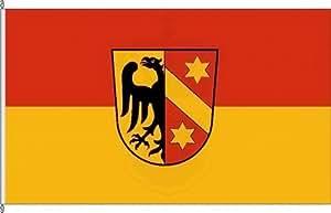Bannerflagge Kaufbeuren - 80 x 200cm - Flagge und Banner
