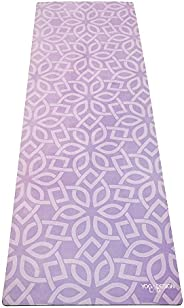 Yoga Design Lab FMA-YDL041 Commuter Floral Flow Training Mat