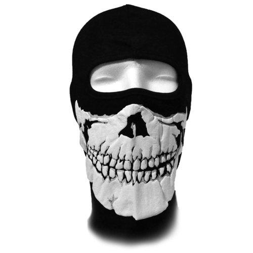 WINDMASK Sturmhaube - Skull Face Totenkopf (Damen Snowboard Face Bandana)