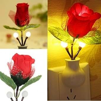 création LED augmenté de lumière de nuit rose lampe décoration de la maison LED Applique