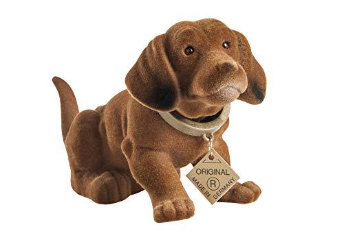 Der Original Wackelhund Dackel klein, Länge 20cm, Höhe 10cm