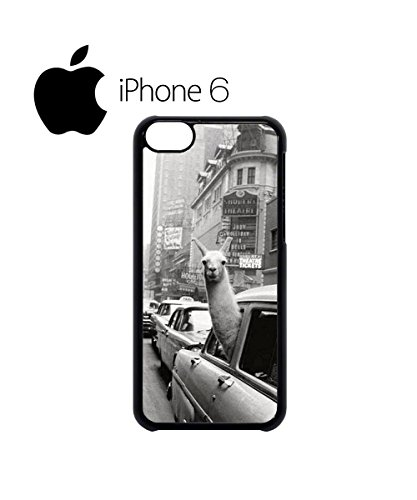 LLama Lama in the Car Vintage Swag Mobile Phone Case Back Cover Hülle Weiß Schwarz for iPhone 6 White Weiß