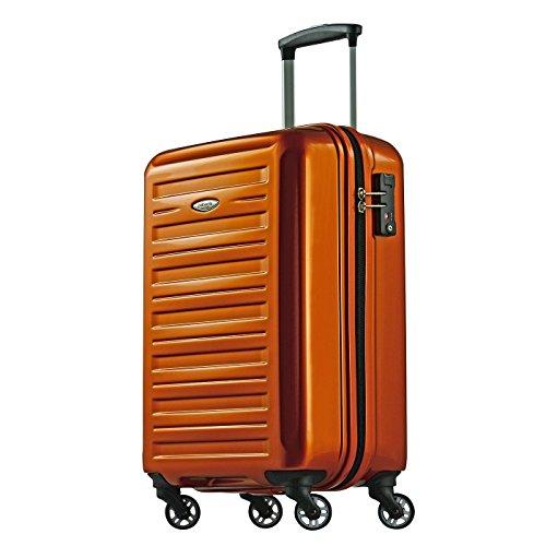 Probeetle voyager ix trolley bagaglio a mano | valigia trolley cabina 40l | policarbonato rigido 3 strati | 4 ruote 360° silenziose | lucchetto tsa e impugnatura telescopica ergonomica | 55x37x23cm