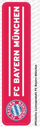 FC Bayern München Auto-Aufkleber - Sticker - Schriftzug klein -