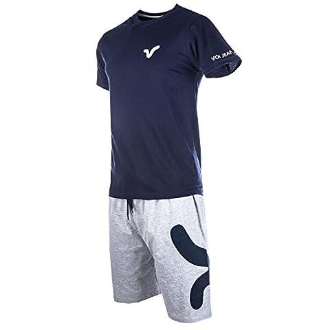 Mens Voi Jeans Mens T-Shirt & Short Pyjama Set in