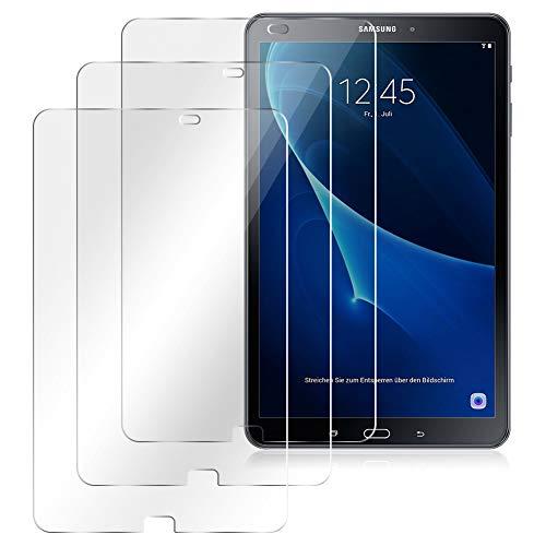 Nauci Panzerfolie passend für Samsung Galaxy Tab A6 10.1 2016 Bildschirmschutz HD Folie 3X Schutzfolie