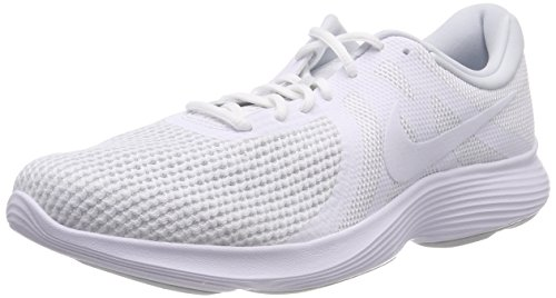 Foto de Nike Revolution 4 EU, Zapatillas de Running para Hombre, Multicolor (White/White-Pure Platinum 100), 47 EU