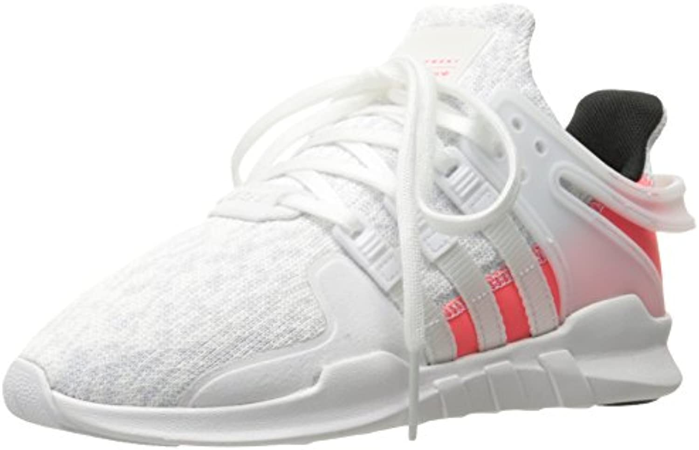 adidas originaux des filles « eqt soutien blanc adv c basket, blanc soutien / Blanc  / turbo de tissu, de 11 m petit b74f86