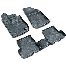 Alfombrillas de goma felpudos con borde alto, apta para Audi A4Sedan y Avant (8E B6B7) (4puertas) a partir de BJ. 2000hasta Bj. 2008