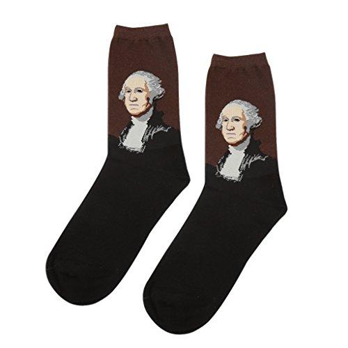 gazechimp-calcetines-de-media-pierna-ocasionales-calcetines-crew-pintura-clsica-para-hombres-5-l35cm