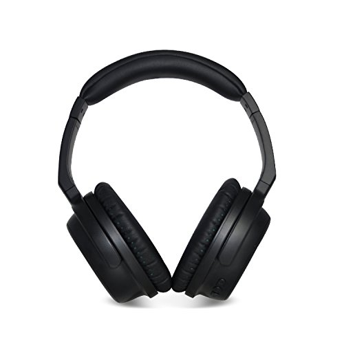 Envent Saber 630 ET-BTHD630 Over-TheEar Wireless Bluetooth Headphones (Black)