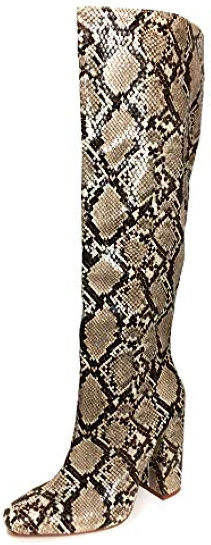 Zara Donna Stivale con Tacco Stampa Animalier 7006 301 | Qualità e quantità garantite  | Uomo/Donna Scarpa
