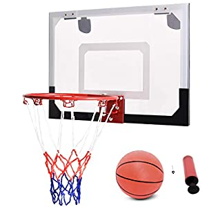 COSTWAY Basketballkorb Basketball-Set Backboard Basketball Basketballboard...