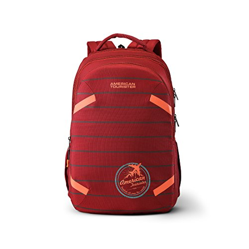 American Tourister Alto 31.5 Ltrs Red Casual Backpack (Fh8 (0) 00 001)