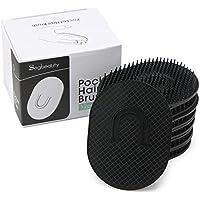Segbeauty® 12 Piezas Negro Set de Pinceles de Bolsillo, Clásico Peine de Peluquería -