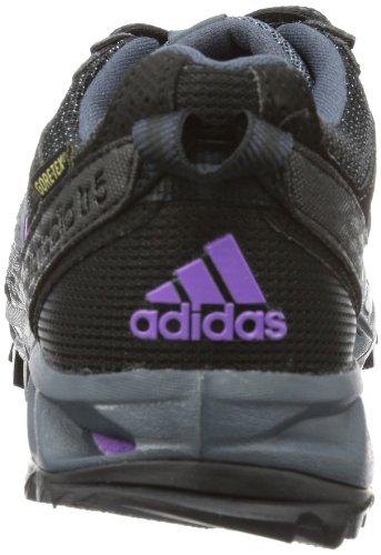 adidas kanadia 5 tr gtx w, Chaussures de running femme Noir - Schwarz (BLACK 1 / DARK ONIX / RAY PINK F13)