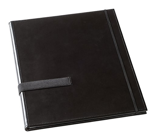 Leuchtturm1917 317520 Kunstleder Notenmappe (Mit Handgurt) schwarz
