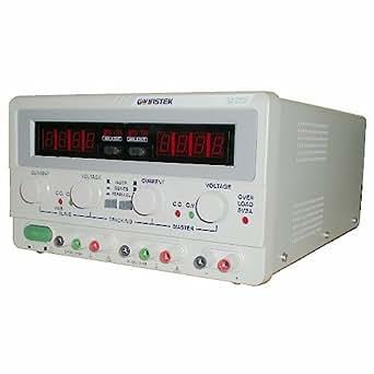 GW Instek GPC-3030D Bloc d'alimentation CC linéaire Sortie triple Pour les séries de 1 à 2 canaux 3A/30V ou à 3 canaux 5V/3A Sortie 195 W