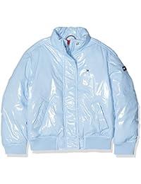 Tommy Hilfiger High Shine Boxey Puffer Jacket, Chaqueta para Niñas
