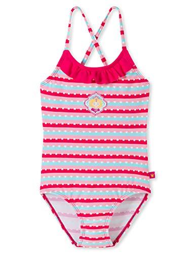 Schiesser Mädchen Prinzessin Lillifee Badeanzug, Mehrfarbig (Multicolor 1 904), Herstellergröße: 104