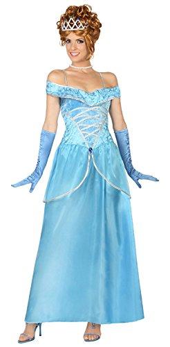 Costume principessa blu donna M / L