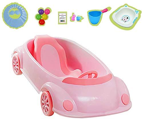DLLZDYG Bañera Plegable, bañera portátil, bañera plástica para bebés, bañera plástica para niños...