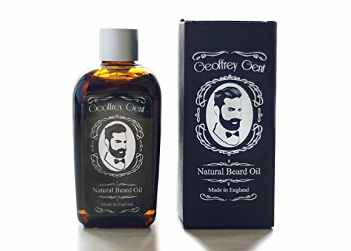 Geoffrey-Gent-Best-Beard-Oil-For-Men-100ml-NO-SCENT-Jojoba-Oil-Beard-and-Conditioner-Grooming-100-Natural-Moisturiser-Made-in-UK