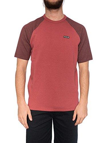 Herren T-Shirt Hurley Beach Club Mesa Crew T-Shirt Cedar