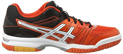 Asics Gel-rocket 7, Chaussures de Volleyball Homme Rouge (cherry tomato/white/black 2101)