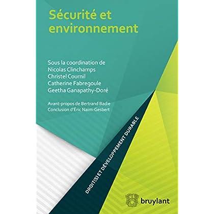 Sécurité et environnement