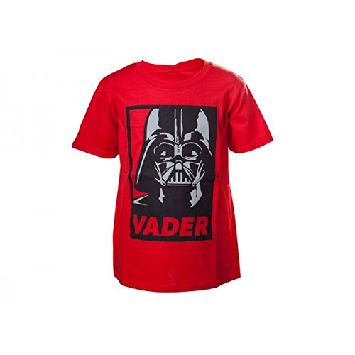 Preisvergleich Produktbild Bioworld - T-Shirt Star Wars - Red Darth Vader Enfant Taille 12/14 ans - 8718526068085