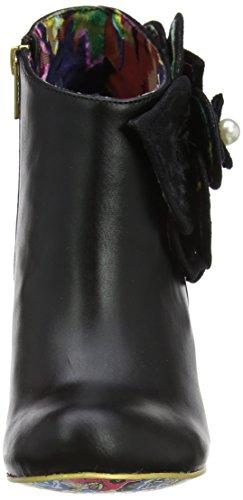 Irregular Choice Damen Pearl Necture Kurzschaft Stiefel Black (Black New)