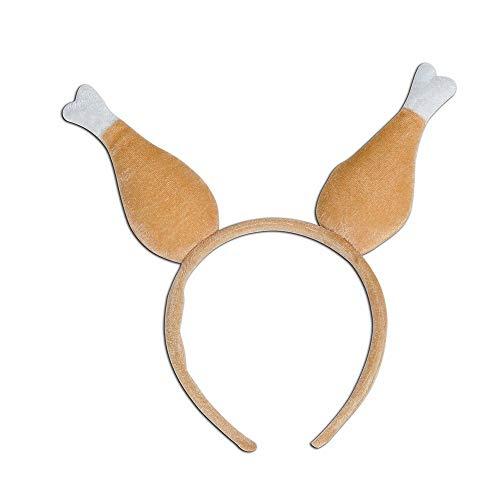 Cloud ROM CLOOM Weihnachts Haarschmuck Kopfbügel Stirnband Beine Kopf Verkleiden Zubehör Weihnachten Cap Party zubehör Frauen Mädchen Stirnband Karneval Dekoration Festival Haarband Zubehör (Braun)