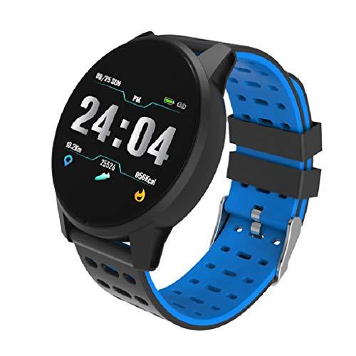 Saingace(TM) Bluetooth Smartwatch, Wasserdichte Smart Watch Intelligente Armbanduhr Fitness Tracker Armband Sport Uhr mit Schrittzähler Herzfrequenz für Kinder Frauen Männer