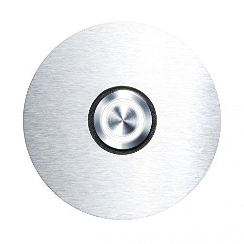 Radius Klingelschalter mit LED Leuchtring weiß