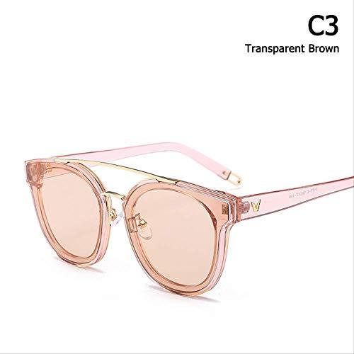 JU DA Sonnenbrillen 2018 Neue Mode Beliebte Frauen Newtonic Stil Sonnenbrille Marke Design Candy Ocean Tint Sonnenbrille Oculos De Sol C3e