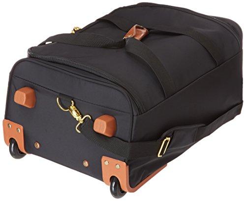 Bric's X- Travel borsone di viaggio a ruote 55 cm schwarz/braun Nero