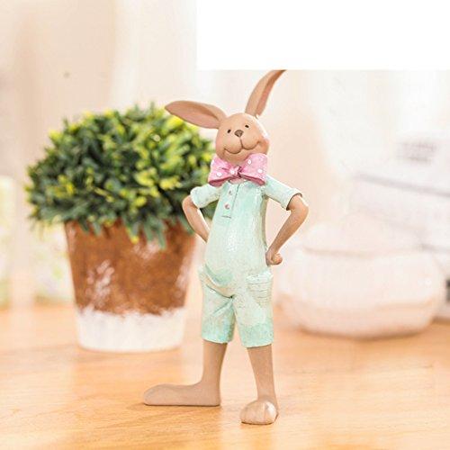 American paese paio coniglio ornamenti/libreria continental decorazione/uovo portagioie/creatività e artigianato-D
