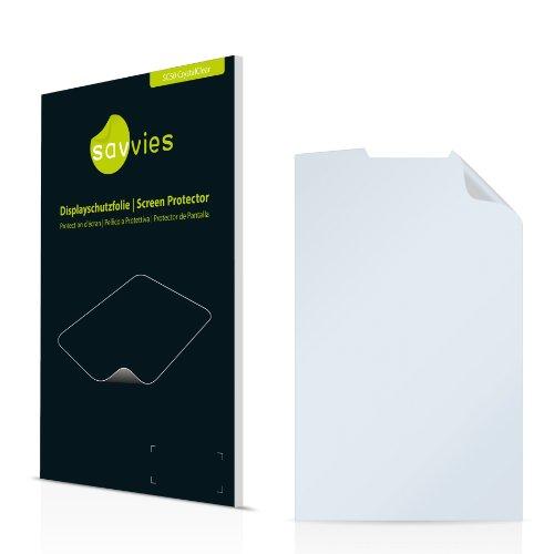 Savvies SC50 Displayschutzfolie passend für Samsung SGH-P960 Schutzfolie Folie