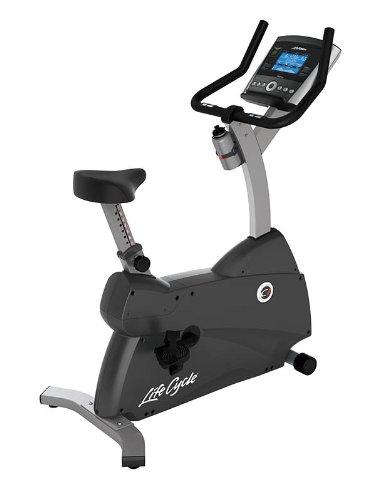 Life Fitness Fahrradergometer C1 Go, schwarz