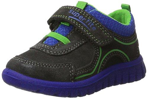 Superfit Baby Jungen SPORT7 Mini Lauflernschuhe, Grau (Charcoal Kombi), 28 (Schuhe Helden Super)
