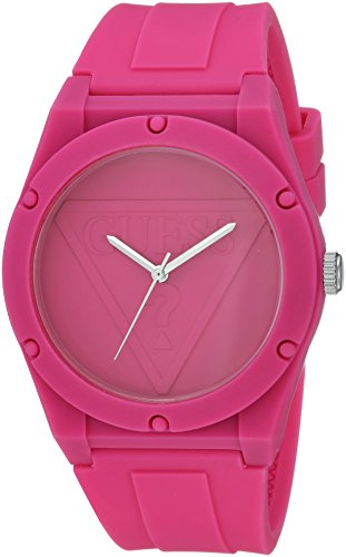 Guess orologio al quarzo in silicone e gomma casual, colore rosso (model: u0979l9)