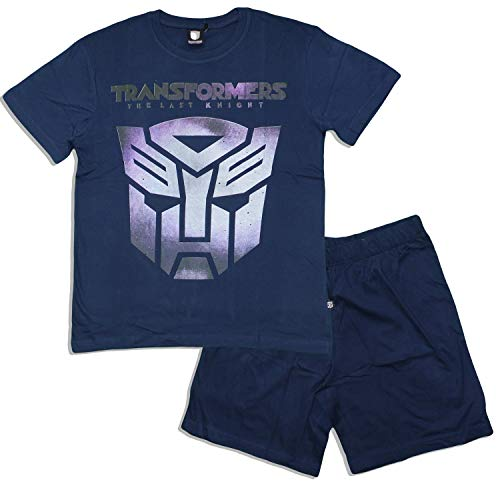 Transformers -  pigiama due pezzi - uomo marina militare large