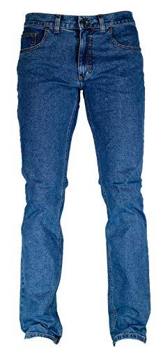 Pioneer Stretch Jeans 1144 - Ron mittelblau / stone wash, Weite / Länge:33 / 34