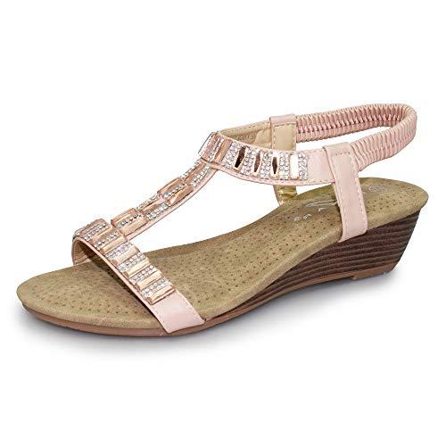 lunar womens reynolds wedge sandal