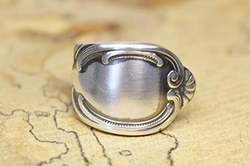 Rokoko Besteckschmuck Ring, ca. 56 (18) Ring aus Besteck